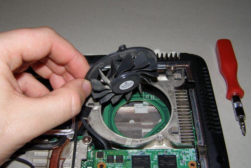 Как сделать вентилятор на ноутбуке